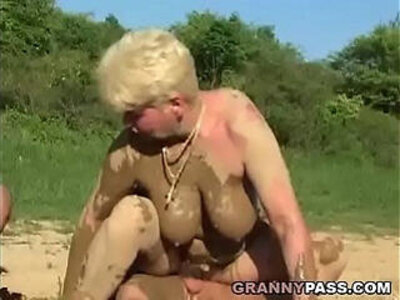 4some mature older woman  porn video
