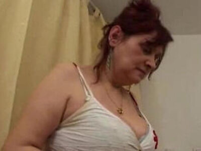 banged busty hairy older woman  porn video
