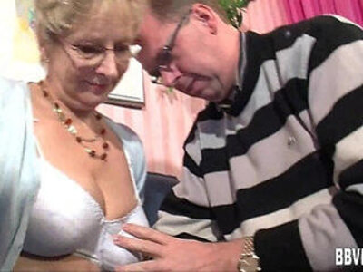 bdsm  busty  german  granny   porn video
