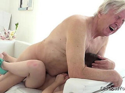 double  old and young  older  young   porn video