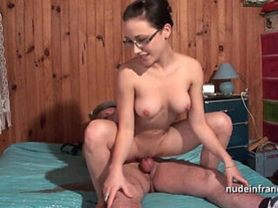 banged  big tits  french  old man   porn video