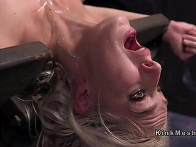 blonde  bondage  pain  slave   porn video
