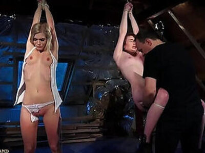 bdsm  leather  slave  teen   porn video